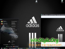 Тема для Windows XP Adidas