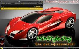 Ferrari Carbon v.2 Theme
