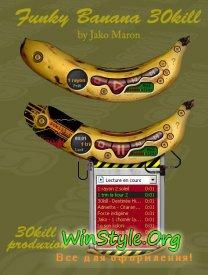 Funky Banana Skin