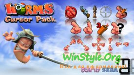 Worms Pointers - Cursors